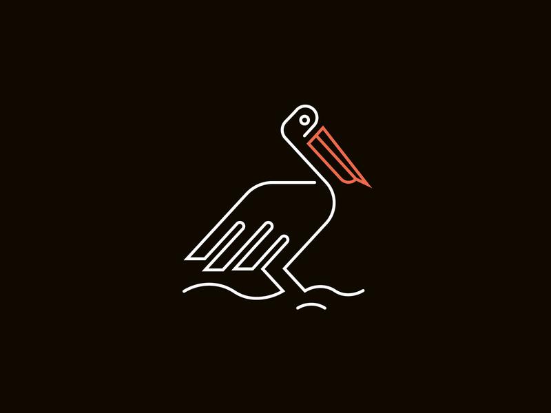 Pelican branding logo mordern logo minimal minimalist logo minimalist brand identity branding brand identity design creative logo business logo design logo design business logo brand design branding design branding brand identity