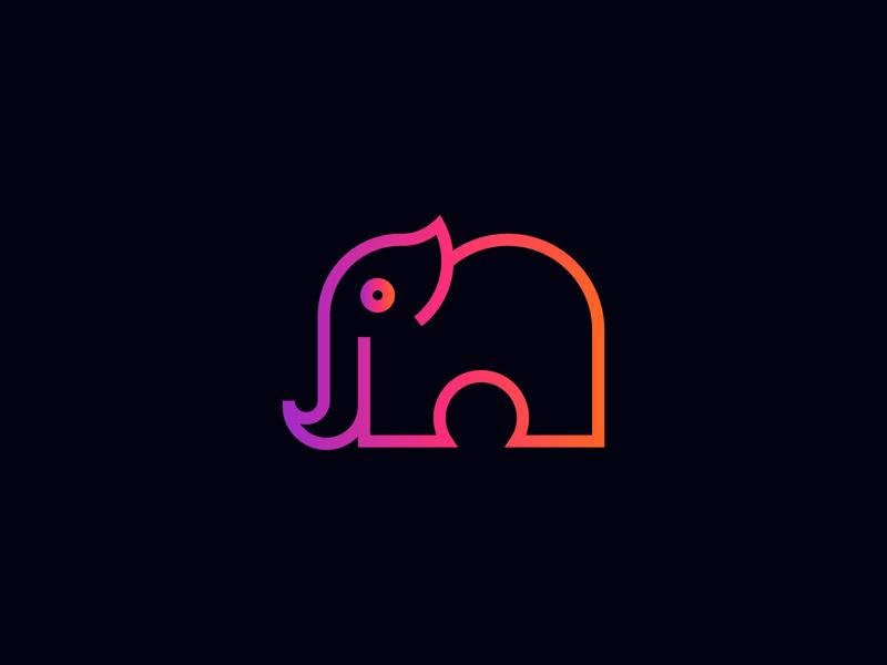 Branding Elephant logo branding concept brand designer minimal minimalist minimalist logo creative logo business logo design elephant logo brand identity design brand and identity branding design brand design brand identity branding