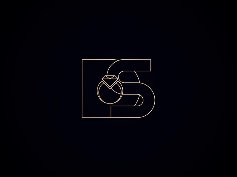 DS letter Logo for Wedding & Events Management organization latter logo letter logo design lettermark brand designer logo design branding branding design brand logoconcept logo mark minimalist logo minimalist logo designer logo design logotype business logo logo