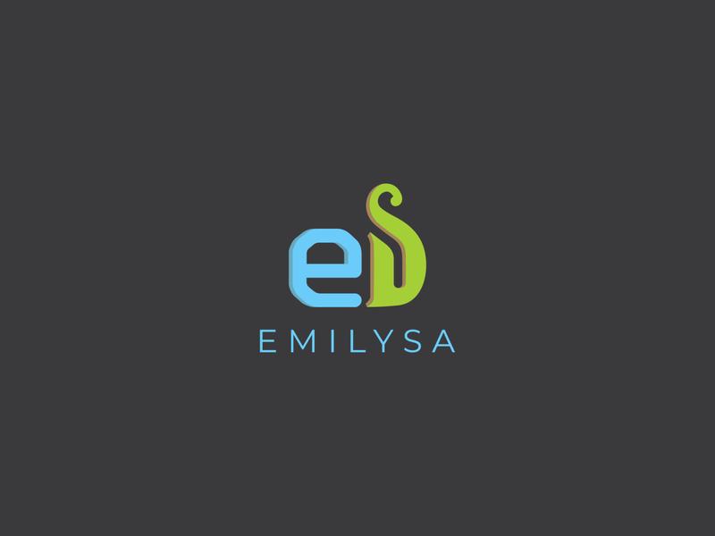 Emilysa branding logo flat logo design flat logo business logo design business logo minimalist design minimalist logo minmal branding concept branding design branding brand designer brand design brand logomark logodesigners logodesigns logodesign logotype logos logo