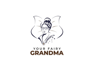 ''Your Fairy Grandma '' Feminine Logo minimalist logo design minimalist logo minimal logo design minimal logos minimal logo minimal feminine logo design feminine logos feminine logo feminine logodesigner brand creative logo brand identity branding brand design logo design logotype logos logo