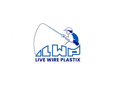 Live Wire Plastix'' fishing logo flat logo design fish logo minimalist logo design minimal logo design minimal logos minimal logo minimalist design minimal design minimal minimalist brand creative logo logodesigner brand identity branding brand design logo design logotype logos logo