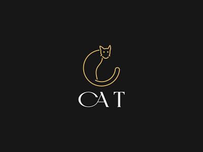 letter ''C'' cat logo branding brand identity cat logo minimal design minimalist logo minimalist design minimal logo minimal logos minimal logo design minimalist minimal logodesigner logodesigns logoinspiration logoidea logoicon logo design logotype logos logo