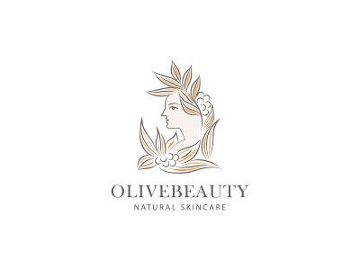 ''Olivebeauty'' Feminine Logo minimal logo minimalist logo minimal women logo brand identity branding design branding brand feminine design feminine logos feminine logo feminine logodesigner logodesigns logodesign logosymbol logoicon logotype logos logo