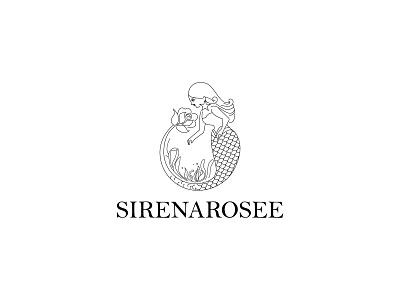 Line Art feminine logo ''Sirenarosee Logo'' mermaid minimalist logo minimal logo design branding design brand identity feminine design feminine logos feminine logo line art logo line art logodesign logodesigner logodesigns logosymbol logoinspiration logoidea logoicon logotype logos logo
