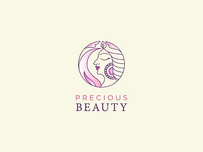 Line art feminine logo, ''Precious Beauty salon logo'' minimalist design minimalist logo minimal logo design minimal logos minimal logo line art work line icon feminine logo feminine logo design feminine logos line art feminine logo line art logo line art logodesigner branding brand identity logo design logotype logos logo