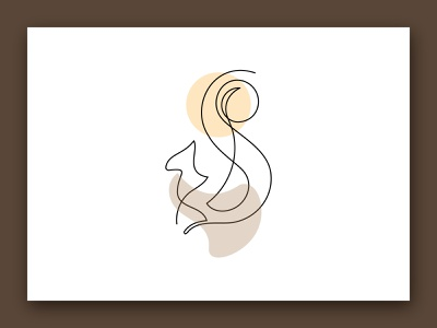 One Line Art, One Line Artwork, ''Squirrel Artwork'' minimal minimal design line art line artwork line art illustration design logodesigner branding brand identity logo design logotype logos logo