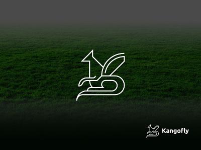 Letter K + Kangaroo logo icon geomatrical animal logo kangaroo logo kangaroo creative logo unique minimal logos minimal logo minimal logo design minimal line art logo line art design logodesigner branding brand identity logo design logotype logos logo