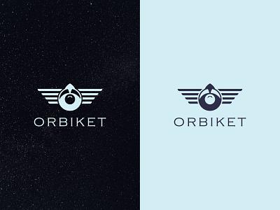 Letter O + Spaceship Icon + Wings Icon Logo Concept minimalist logo minimal logo minimal logos minimal logo design spaceship logo design logodesigner branding brand identity logo design logotype logos logo