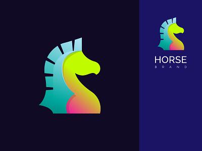 Horse Modern Logo, Modern Animal Logo Icon modern animal logo animal logos graphic design horse logo business logo company logo animal logo modern logo design modern logo modern design logodesigner branding brand identity logo design logotype logos logo