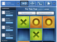 Tic Tac Toe Facebook Game