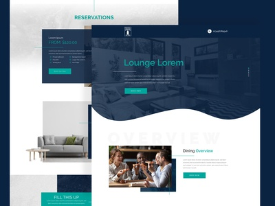 Hotel Mission Web Design