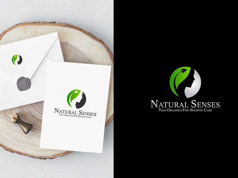 Natural Senses Logo Design