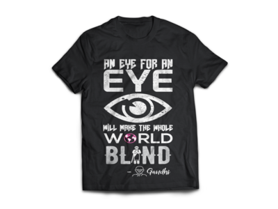 Typography Quote T Shirt Design