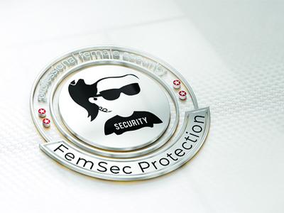 female security logo design