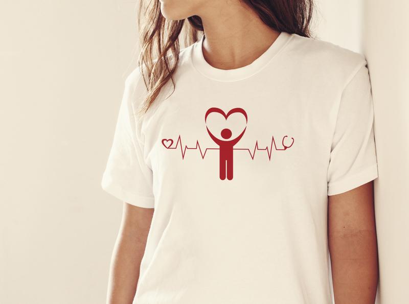 Nurse Typography T-shirt design