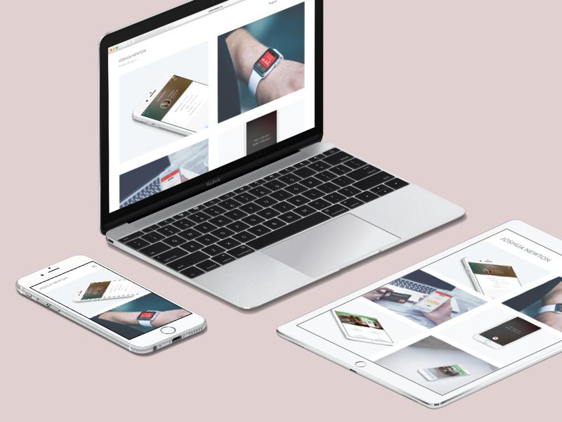 New Portfolio - 2016 update watch android ios brand personal api development web app design update portfolio new