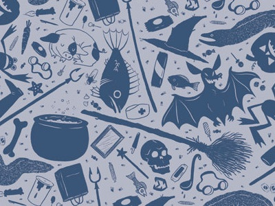 Endpapers drawn tiled lg
