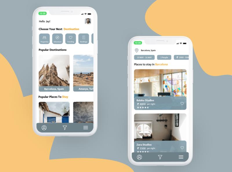 Travel app ux design ux  ui travel app travelling product design product designs appdesigner application app design appdesign minimal app animation ux ui design