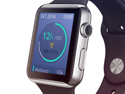 Sellf on Apple Watch Concept