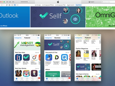 Sellf featured by Apple apple featured appstore business startup crm iphone app artwork world banner best