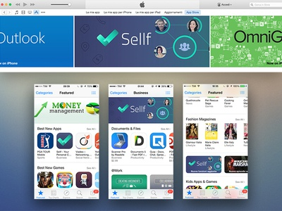 Sellf featured by Apple