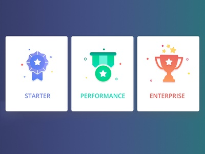 Sellf New Plans - Icons apple badge prize cup reward icon sales sellf business crm pricing plans