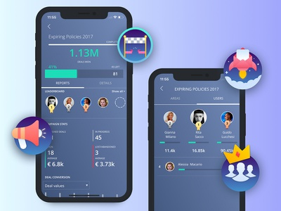 Sellf For Iphone X competition ui sales ios badges leaderboard gamification crm apple iphone x
