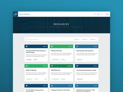 JBarrows Sales Training Resource Library
