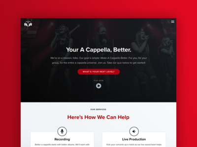 The Vocal Company Homepage