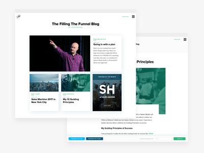 Blog Index & Post