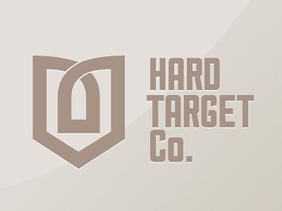Brand & Logo Design for Hard Target Co gun logo taget logo brand design visual identity shooting rifle shield brand target gun bullet logo