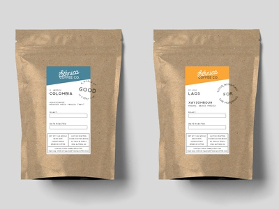 Ethnica Coffee Labels brand identity brand and identity coffee brand coffee branding coffee coffee bag