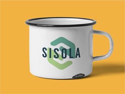 Sisola Coffee Producer Logo photoshop affinitydesigner visual identity coffee coffee mug logo design branding and identity coffee beans coffee bean hands branding brand design logo