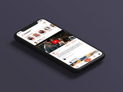 Soundfren App Mockup react native musician soundfren social app social media music app music ux ui indonesia app design app