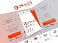 Microsoft Office 365 Sell Page
