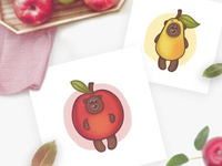Bear's fruit suits