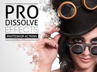 Pro Dissolve Effects Photoshop Actions Dribbble Shot