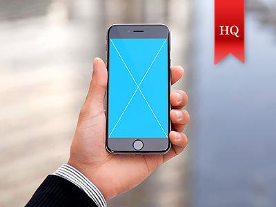 Premium iPhone 6 Mockups apple app apple mockup iphone mockup iphone 6 application gui hand mockup mock-up responsive screen interface apps