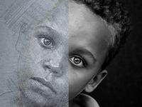 Eyes - Pencil Art Photoshop Action