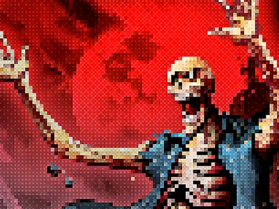 Pixel Artist - 8Bit Retro - Photoshop Action photo editor professional pixel maker artwork pixel effect photo effect effect retrowave 80s vintage