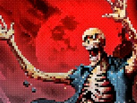 Pixel Artist - 8Bit Retro - Photoshop Action