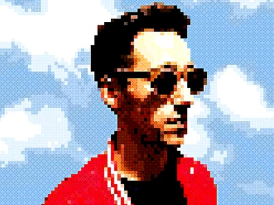 Ciuxel - Pixel Artist Photoshop Action pixel maker photo effect pixel effect photo editor vintage retrowave artwork effect professional 80s