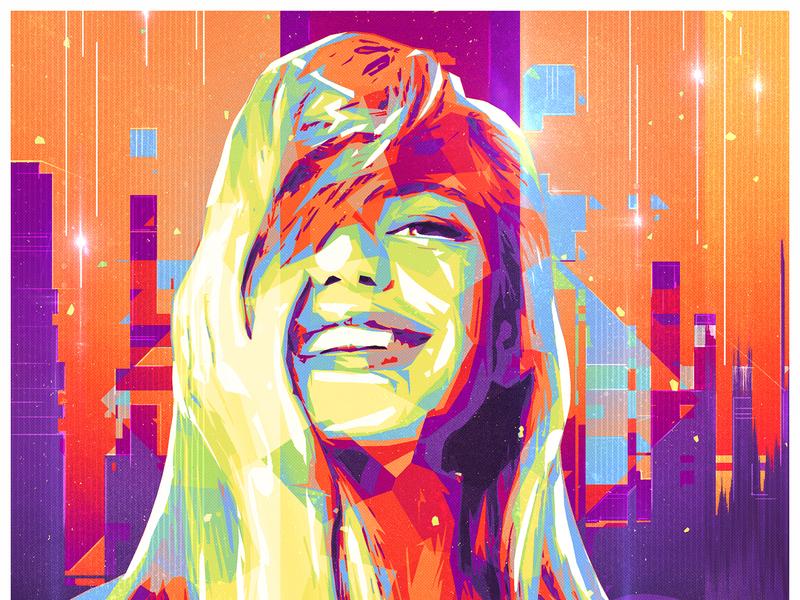 Modern Artist - SMILES! series #2 tutorial add-on filter colorful free artwork adobe photoeffect photoshopactions photoshop digital art