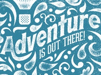 Wander Postcard: Adventure Is Out There!