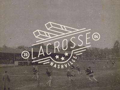 Lacrosse Badge II