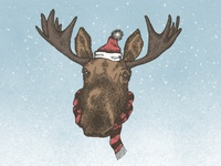 The Holiday Moose