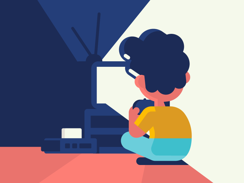 Video game boy videogame game vector identity illustration