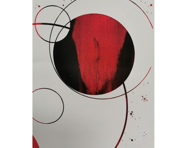 Astral Serie making of (serigraph)