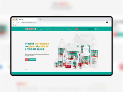 Pharma website | Homepage branding design product medical website medical design medical affiliate sanitizer covid19 pharma webdesign web website user experience ui design user interface ux ui
